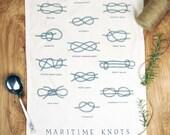 Mariner's Knots Towel
