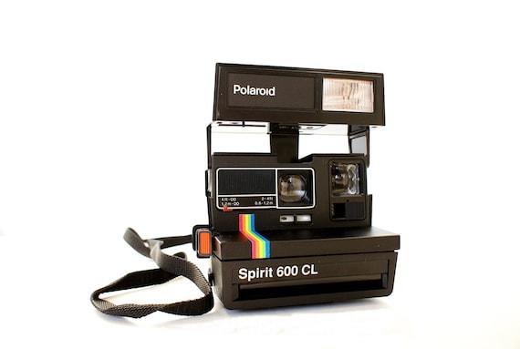 polaroid camera spirit 600 cl rainbow stripe film tested. Black Bedroom Furniture Sets. Home Design Ideas