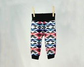 Geometric baby leggings, unisex baby clothes, modern baby leggings, baby gifts, baby clothes, ready to ship