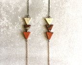 triangle scape necklace