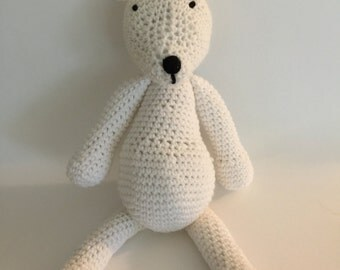 Crochet Amigurumi Polar Bear Plush