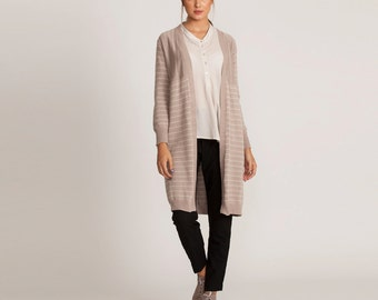 Long jacket, striped long jacket, knee length jacket,winter coat, cardigan, long sleeves jacket, long jacket, winter cardigan casual jacket,