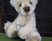 "3"" Ralphie OOAK Teeny Tiny Miniature Vintage Mohair Artist Bear by Bramber Bears"