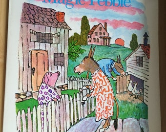 Sylvester and the Magic Pebble, vintage children's story book 1969
