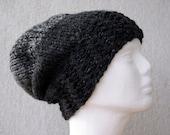 Mens hat Slouchy hat Striped mens hat Mens winter beanie Handmade knit hat Crochet hat Men's Beanie Hat Men's Slouchy Beanie Hat for Men