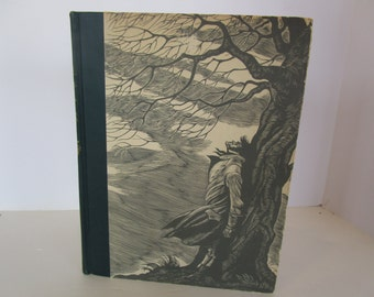 Wuthering Heights by Emily Bronte 1943 Illustrated with Wood Engravings by Fritz Eichenberg