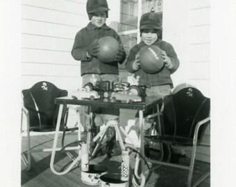 "Vintage Photo ""Santa Was Here"" Christmas Presents Snapshot Antique Photo Old Black & White Photograph Found Paper Ephemera Vernacular - 136"