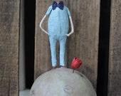 The Little Prince Folk Art Paperclay