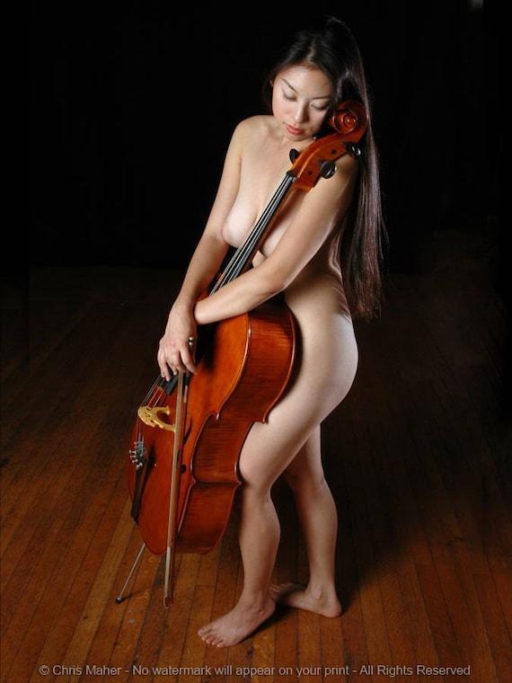 Nude Female Cello Player Porn 57