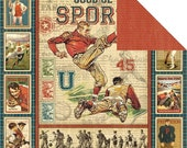 Graphic 45 - Good Ol' Sport Collection - Good Ol' Sport - Retired
