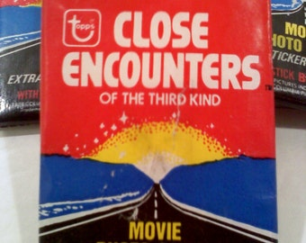 Close Encounters Trading Cards