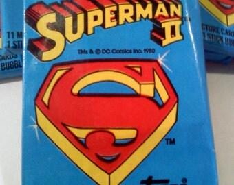 Superman II Trading Cards
