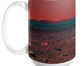 MARS ONE Coffee Mug, 11oz or 15oz