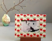 Tulip Picture Frame, Valentine's Day Gift, Housewarming Gift, Unique Frame