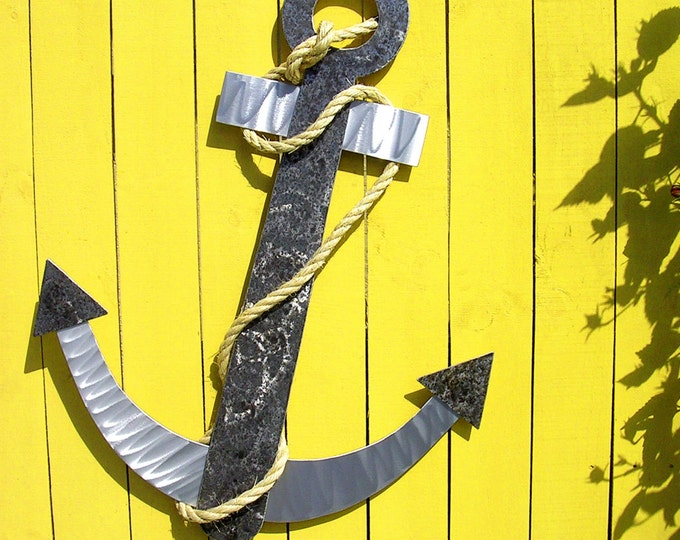 outdoor metal wall art and beach house decor by