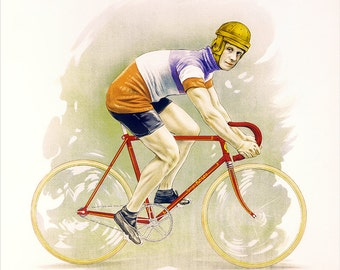 Personalized Bicycle Poster (#1395P)