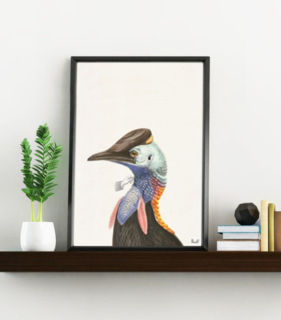 Summer Sale Exotic Bird print- Wild life print - Tropical collection wall decor- Exotic wall art ANI242WA4
