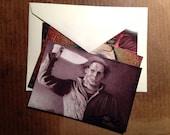 Monstrous Men Postcards, 3-Piece Illustration Set