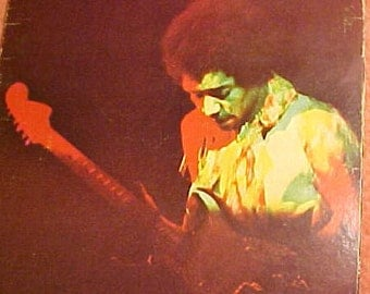 Jimi Hendrix Album Cover Only  Hendrix  Band of Gypsys Cover Only