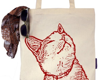 Whiskers the Cat - Eco-Friendly Tote Bag