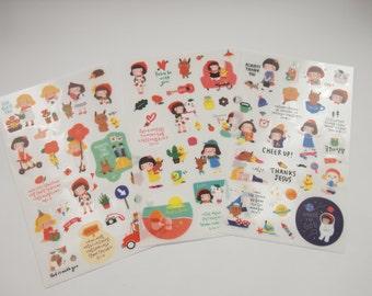 Hello Jane Deco Sticker (6 sheets)