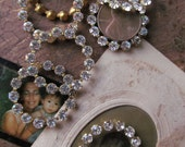 Vintage Swarovski  Rhinestone Crystal Rings