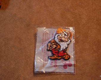 "Walt Disney Character Applique ""Bashful"" made in USA new in package"
