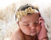 Love Headband, Love Rhinestone Headband, Newborn Headband, Baby Headband, Rhinestone Headband