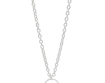 Eastern Promises Beaded Dangle Sterling Silver Double Necklace (long)