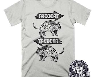Tacocat Shirt Taco Shirt Funny Food Gift Mens Tshirt Womens Graphic Tees Kids Tshirt Cat Lover Gift Funny Tshirts Funny Cat Shirt Grammar
