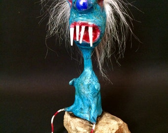 Fork Face  -  A Recycled Creature