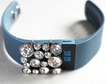 Gift Wearable Tech Jewelry Fitness Tracker Bling Fitbit Flex Band Crystal Cluster Wearables FitBit Bling Fitness Band accessories