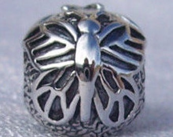 Authentic Pandora, Lacewing, Butterfly, Bracelet Charm, 925 ALE Clip, Sterling Silver, Gift Ideas,  FREE SHIPPING