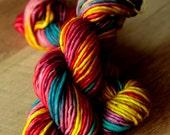 "Super Bulky Single yarn - 80/20 SW Merino/Nylon - Valentine's Day - ""Galentine's Day"""