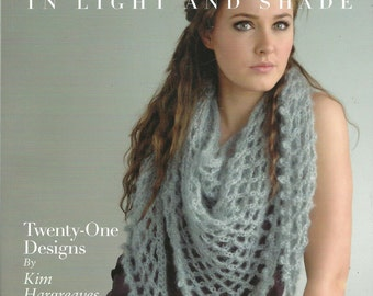 Misty In Light and Shade Twenty-One Designs by Kim Hargreaves  Knitting Pattern Book