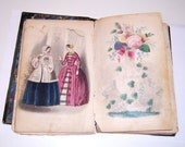 Godey's Lady's Book, Jan-June 1851: Victorian Fashion, Stories, Poetry and Engravings