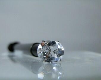 Loose Gemstone 2.45 ct Clear Goshenite Beryl Loose Gem Oval Cut Super Clear VVS 11 x 9 x 5.10 mm Jewelry Supply DanPickedMinerals