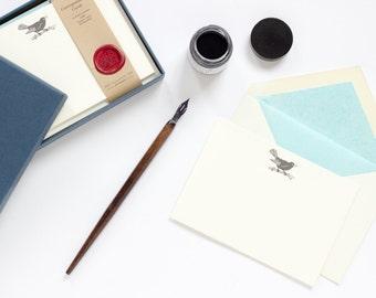 Blackbird Letterpress Correspondence Cards