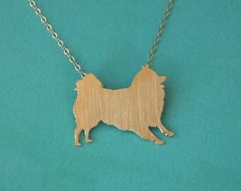 Pomeranian Necklace , Pom Charm , Spitz Dog Jewelry , Pom Pom Jewelry , Pomeranian Pendant , Pomeranian Charm , Pomeranian Jewelry