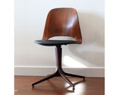 Plycraft Swivel Chair - Black *Reserved for Lilly*