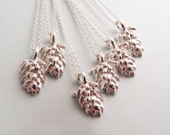 Silver Hop Necklace