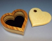 "Valentine's Day Gift, Wedding Gift, Birthday Present, Ring Box, Box 6"" x 6"" x 2 3/4"""