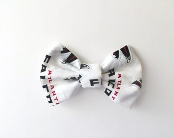 PET BOW: Atlanta Falcons Inspired Pet Bow for Dogs or Cats // Gifts for Dogs // Dog Bow Tie // Pet Bow Tie