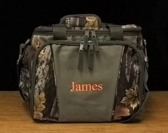 Set of 4 Insulated Coolers Personalized Cooler Camo Coolers Groomsmen Gifts