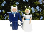 Adventure Time Wedding Toppers