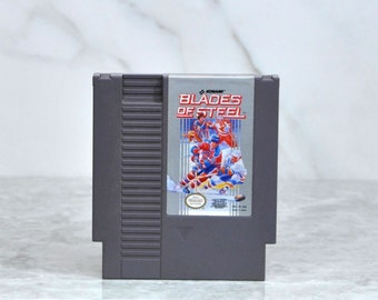 Vintage Nintendo Game Blades Of Steel Konami 1987, NES, Video Game, Console Game, Vintage Game, Vintage Nintendo, Vintage NES, Sports