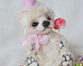 OOAK Artist bear ivory  by Lollipopbears