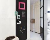 Chalkboard Wall Decal, Large Chalkboard Sticker, Rectangular Chalkboard Decal, Chalkboard Door Decal, Door Sticker - by Simple Shapes