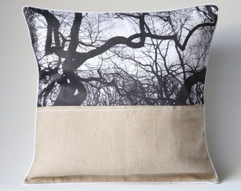 Pillowcase COUCHKÜSSCHEN Trees | 40x40 cm | Photoprint