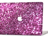 PINK GLIMMER MacBook Decal Macbook Stickers Macbook Skin Macbook Case Macbook Pro Cover Laptop Stickers Laptop Skin Laptop Decal Case
